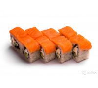 Ролл сливочный лосось.